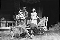 """Actors perform """"The Real Inspector Hound."""""""