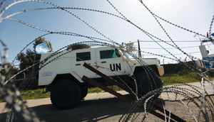United Nations Disengagement Observer Force  (ATEF SAFADI/EPA/Newscom)