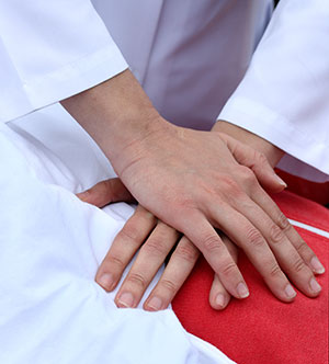 Civillians are more likely to perform life-saving assistance if they have the option of hands-only CPR.