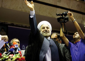"Iran's President-elect Hassan Rowhani wants to promote ""mutual confidence"" with the U.S. ( Farzaneh Khademian/ABACAPRESS. COM)"