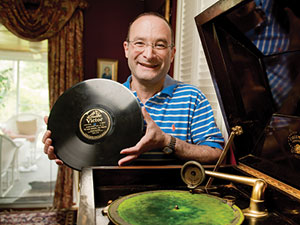 Larry Chernikoff has a  passion for preserving  Judaic sound recordings from the early 20th century. (David Stuck)
