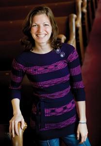 Elisheva Goldwasser says at B'nai Israel, she feels comfortable practicing Judaism the way she wants.