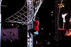 "Adam Grossman says that when competing on ""American Ninja Warrior,"" participants have very little margin for error. (Provided)"