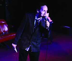"""Provided Alex Braslavsky: """"There is something so funny to me about being the worst  comedian in the world."""""""