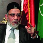 Mohammed Badie tops the list of 2012 anti-Semites. MOHAMED ABD EL GHANY/REUTERS/Newscom