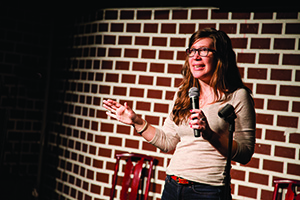 """Specer Ritenour Alison Leiby: """"You're putting yourself out there."""""""