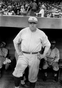 Babe Ruth in 1921 George Grantham Bain