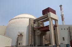 A nuclear power plant in Bushehr, southern Iran. (EPA/Abedin Taherkenareh)