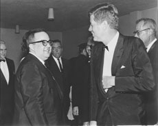 Allan Sherman met with many  important people, including  President John F. Kennedy. (Photos provided)