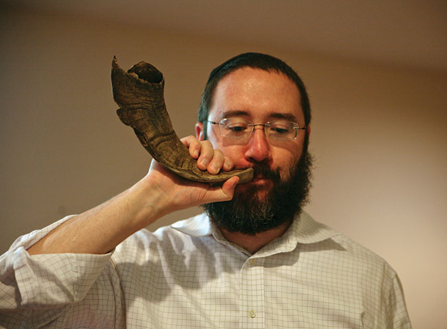 5. You are ready to blow the shofar!