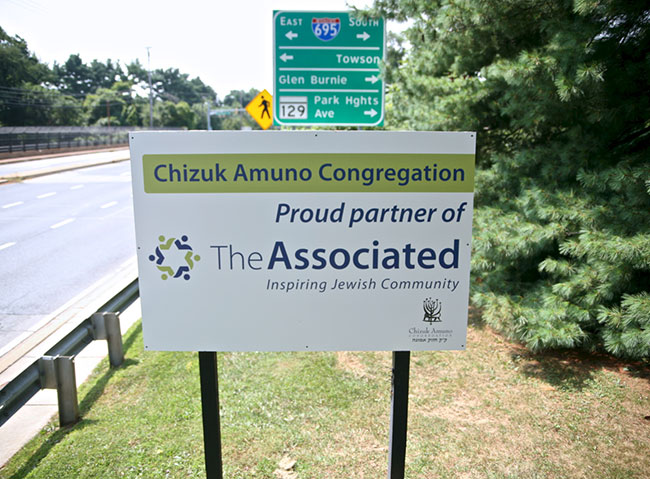 Chizuk Amuno Congregation is one of dozens of synagogues working with The Associated to inspire Jewish community.
