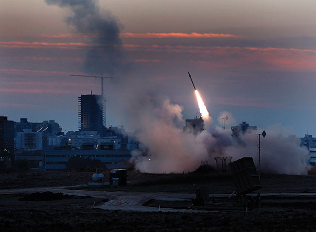 After days of stepped-up rocket attacks from Gaza, Israel launches Operation Pillar of Defense.