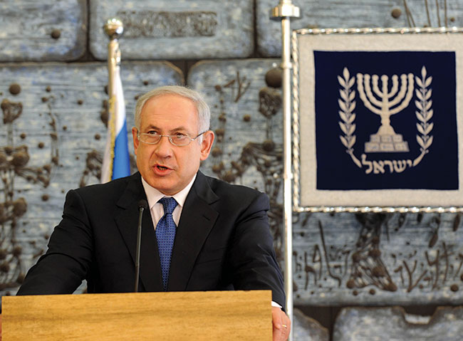 Binyamin Netanyahu wins re-election as Israel's prime minister.