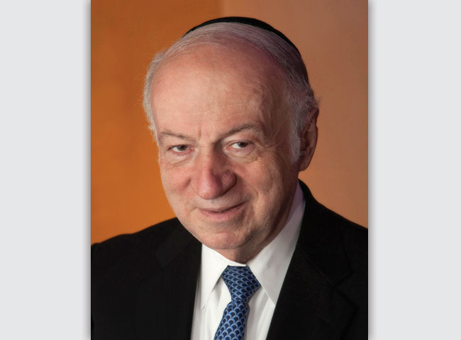 Julius  Berman is re-elected as chairman of The Claims Conference.