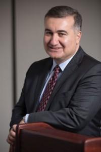 Ambassador Elin Suleymanov says Azerbaijan can serve as a model for Jewish-Muslim relations. (Courtesy of the Fletcher School/John Davis Photography)