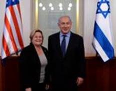 U.S. Rep. Ileana Ros-Lehtinen's Congressional delegation to Israel met with several of the country's key figures, including Prime Minister Binyamin Netanyahu.