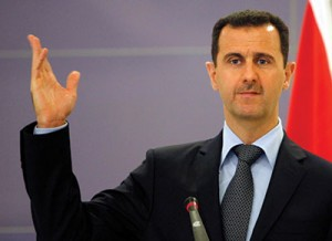 President Bashar al-Assad has threatened to retaliate against Israel if the U.S. strikes Syria with missiles. (Chip Somodevilla/Getty Images)