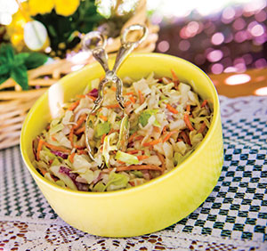 CHESAPEAKE BAY COLESLAW (Pareve)