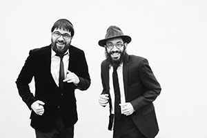 """Top: 8th Day Jewish rock band will be in Baltimore next week. Middle and bottom: Scenes from the Cheder Chabad """"Yaalili"""" rock video."""