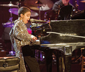 Ethan Bortnick has traveled the world. He will be at the Gordon Center next month.