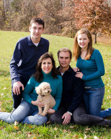 Brian Feldman, shown here with his family, has been appointed to fill the unexpired term of Maryland Sen. Rob Garagiola, District 15. (Provided)