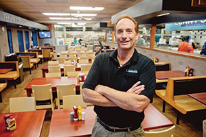 Alan Smith, owner of Lenny's Deli, said it was time to remodel his restaurant.