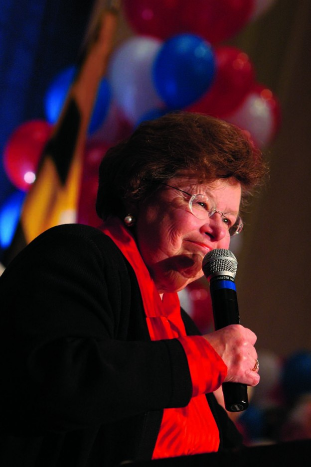 Sen. Barbara Mikulski has endorsed Anthony Brown for governor of the State of Maryland.