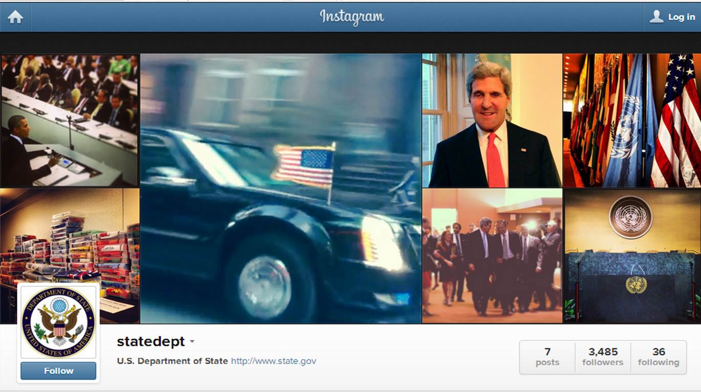 state department on instagram - sept 25, 2013