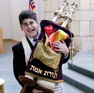 "Joey Minch says his bar mitzvah day was ""exhilarating."" (photo provided)"