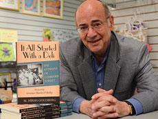M. Hirsh Goldberg's latest book focuses on the inspiring story of the Attman family. (Melissa Gerr)