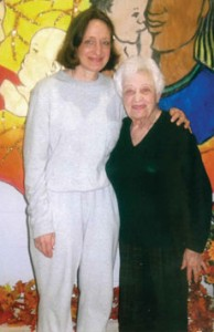Elsa Newman (with her late mother) was convicted in 2002. She is serving 20 years.