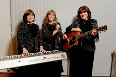 From left, Ayelet HaShachar is  composed of Lisa Aronson Friedman, Stephanie Rabinowitz and Shalomis (Shelly) Koffler Weinreb.