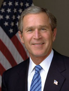 """Some called George W. Bush's decision to speak to a group of Messianic Jews """"infuriating."""" (Eric Draper, White Hous)"""
