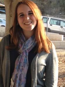 Penina Romanek says volunteering in Beit Shemesh is teaching her the importance of the State of Israel. (Maayan Jaffe)