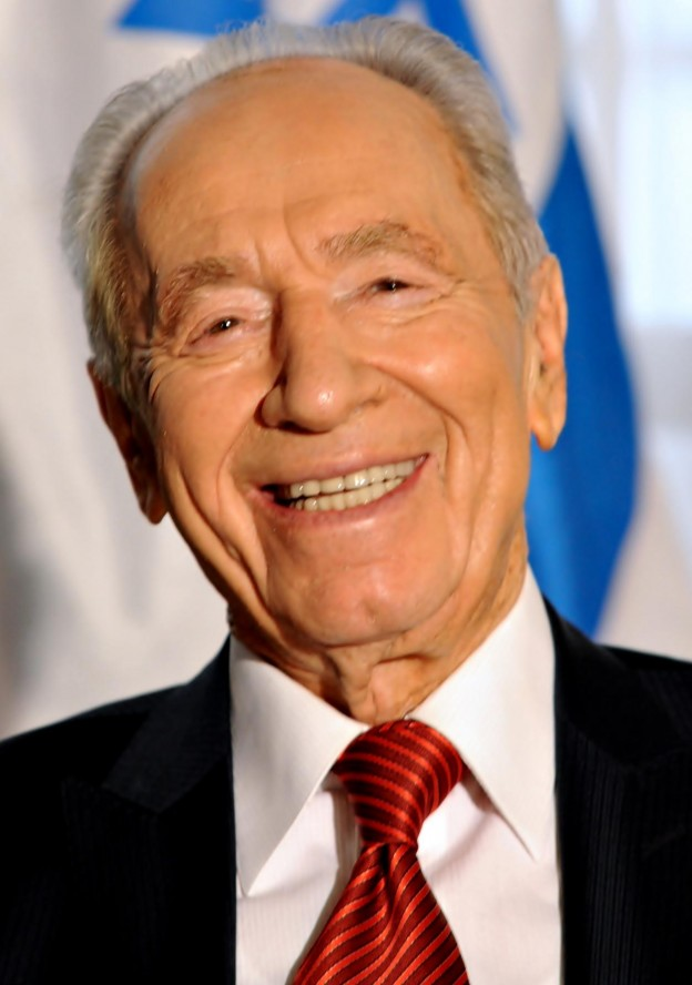 Israeli President Shimon Peres told 3,500 GA listeners that Israel must have courage.