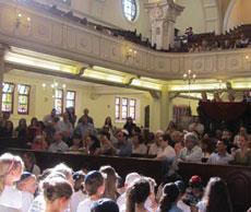 Pre-school graduation ceremony at the Gardens Shul. (Photos provided)