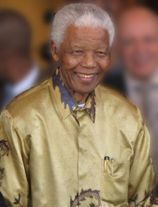 Nelson Mandela in 2008. (South Africa The Good News)