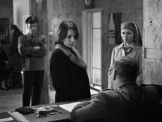 "Agata Trzebuchowska as Ida Lebenstein (right) and Agata Kulesza as Wanda Gruz in the Polish fiIm ""Ida."" (Courtesy photo)"
