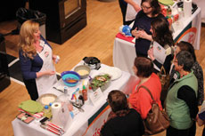 Jamie Brown-Miller demonstrates her award-winning recipe. (photos provided)