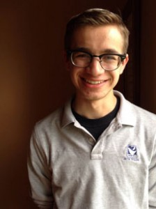 "Beth Tfiloh junior Rafi Lehmann says he is ""honored to be a part of the program."" (Provided)"