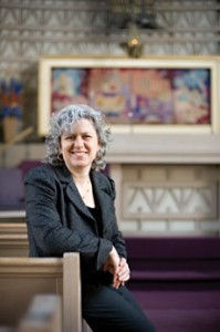 Rabbi Elissa Sachs-Kohen said Jewish leaders need to think outside the synagogue. (Kirsten Beckerman)