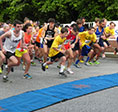 Participants race in last year's Pikesville 5K Run/Walk. (Provided)