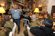 Lt. Col. Tzvika Levy's organization provides inspiration and support to nearly 6,000 lone soldiers. (Provided)