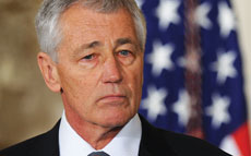 U.S. Secretary of Defense Chuck Hagel recently announced he would recommend the late Jewish World War I veteran Sgt. William Shemin for the Medal of Honor. (Olivier Douliery/Abaca Press/MCT)