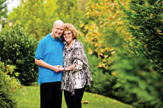 Michael Zeisler and his wife, Elizabeth, encourage those of Ashkenazi descent to  undergo genetic testing. (David Stuck)