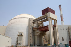 The Iranian nuclear power plant in Bushehr. (EPA/Abedin Taherkenareh)