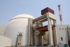 The Iranian nuclear power plant in Bushehr. (EPA/Abedin Taherkenareh)