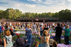 Merriweather Post Pavilion has hosted Led Zeppelin, The Black Keys, Jimi Hendrix and Jack Johnson, as well as a variety of music festivals since its opening in 1967. (Photos Provided)