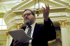 Rabbi BarryFreundel has been suspended without pay. (File photo)