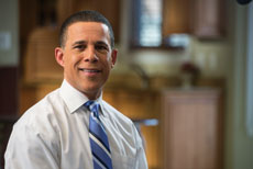 For Anthony Brown, the state's infrastructure is a top priority. (Provided)